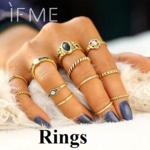 Tomiko Fashions Rings
